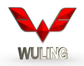 3D wuling logo