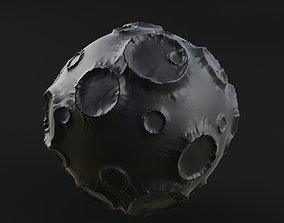3D model Moon satellite