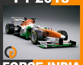 3D model F1 2013 Sahara Force India VJM06