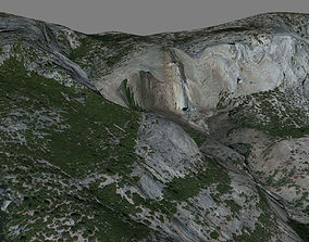 Yosemite Falls 3D model