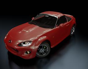 Car Mazda MX-5 Miata - Auto for render and games 3D model