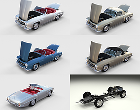 3D Full Mercedes 190SL Pack