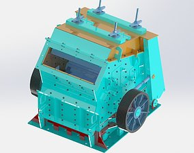 3D model PF 1315 Hydraulic Impact Stone Crusher