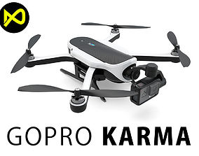 GoPro Karma Drone And GoPro Hero 5 3D