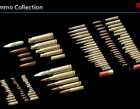 Ammo Collection 3D model