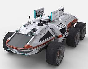 3D model CAR - Vehicle from Mass Effect Andromeda