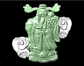 ring God of wealth 3D printable model