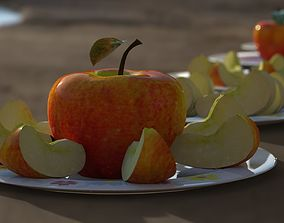 Apples collection 7 type Apples 3D model