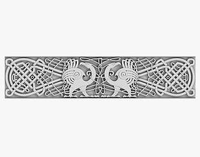 3D Celtic Ornament arch