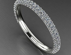 Pave Diamond Ring RW0173 3D print model