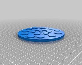 Pizza 3D printable model fla-bread