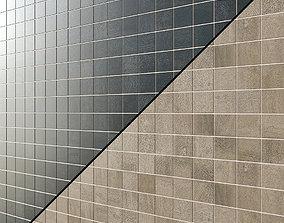Crossover mosaic 3D model