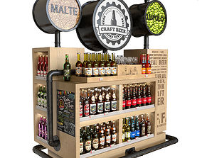 3D model Craft Beer table