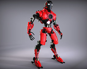 Sci-Fi Robot Updated 3D
