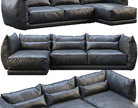 3D Montauk Jane leather sofa