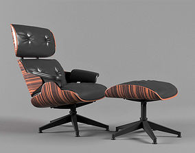 3D model Chair eames lounge