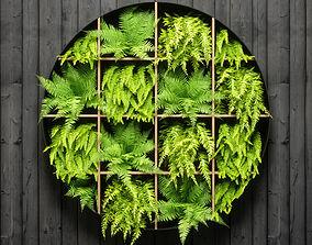 fern wall panel 3D model