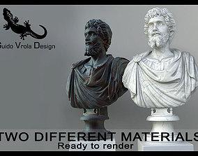 3D model Bust of Septimius Severus Emperor
