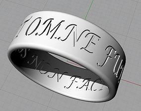 Ring of Solomon in Latin 3D print model