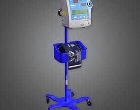 3D model Vital Signs Monitor HPL - PBR Game Ready