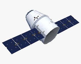 SpaceX Dragon 3D model