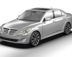 2013 Hyundai Genesis 3D