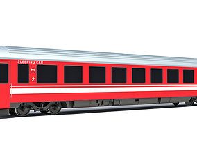 3D Sleeping Car