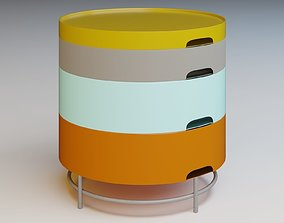 IKEA - ColorNightStand PS2014 3D model