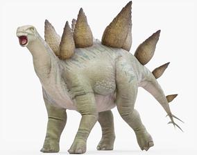 Stegosaurus Rigged 3D model