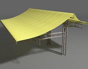 Canopy tent 3D