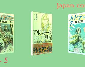 3D Comics of Japan - set 5