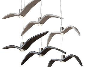 3D model Brokis Night birds