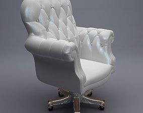 Luxury Office Armchair 3D