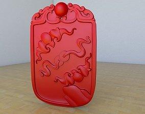 Chinese Medal 3D print model