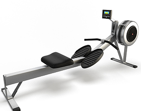 Indoor Rower 3D model