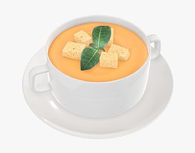 3D model Potato soup sweet