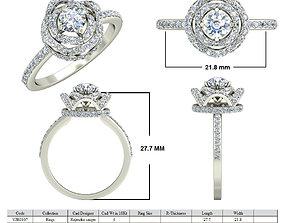 Jewelry 3D CAD STL Files- VJR107