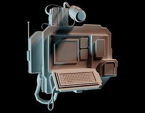 Science fiction information box 3D model