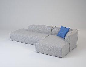 Bengal sofa corner 3D model