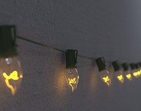 3D String Christmas Lights V7