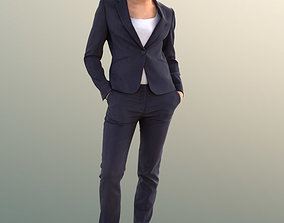 Diana 10834 - Standing Business Woman 3D asset