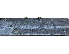 Mexico City Sidewalk 3D model