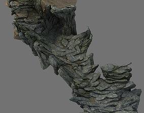 barracks Terrain - Stone Road 02 3D