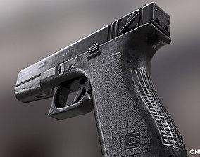 3D asset Glock18