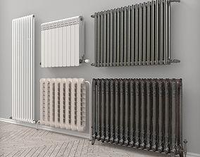 radiator set 3D model
