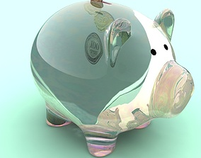 money box PIG 3D