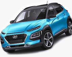 Hyundai Kona 2018 3D