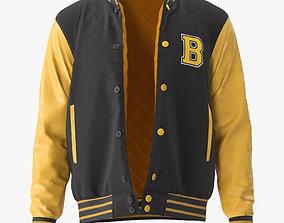 3D Varsity Jacket