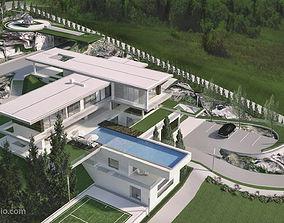 Vinik Modern Residential Villa 3D model