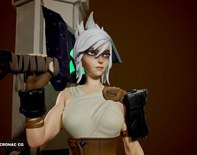 3D printable model Riven - League of Legends